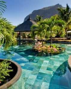 LUX* Le Morne - Mauritius. Le Morne sits effortlessly at the edge of the Indian Ocean, where sky meets the sea..