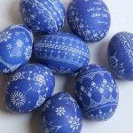 Sorbian Easter eggs - DIY Scratch Technology