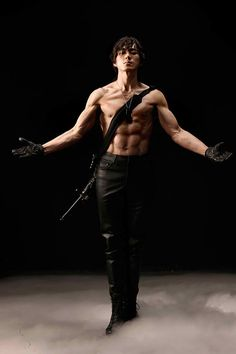 """Song Il Kuk, from """"jumong"""", among others.father of triplets - Song Il Kuk, from """"jumong"""", among others…father of triplets - Body Reference Poses, Human Reference, Pose Reference Photo, Figure Drawing Reference, Jumping Poses, Fighting Poses, Anatomy Poses, Poses References, Figure Poses"""