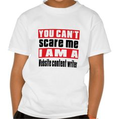 Website content writer scare designs shirts T Shirt, Hoodie Sweatshirt