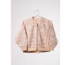 sweatshirt met rits Doves
