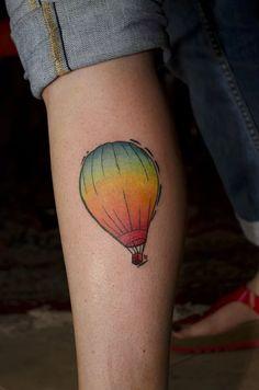35 Poetic Hot Air Balloon Tattoos   Tattoodo