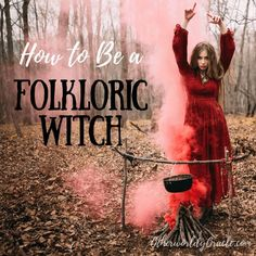 The folkloric traditional witch studies and uses folk tales, folk magic & medicine, and more in her practice. If you're curious of how to be a folkloric traditional witch, read about the basic beliefs and practices below.