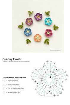 Crochet Patterns Free Women, Crochet Jewelry Patterns, Crochet Hair Accessories, Modern Crochet Patterns, Doll Patterns, Crochet Butterfly Pattern, Crochet Flower Tutorial, Crochet Instructions, Yarn Flowers