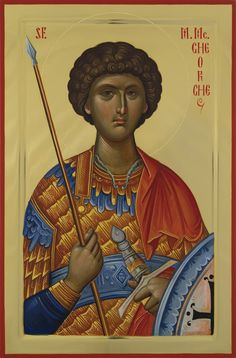 Expozitie 2019 - Lucrari Byzantine Icons, Orthodox Christianity, Saint George, Orthodox Icons, Christian Art, Holy Spirit, Saints, Religion, Image