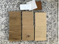 We, well let's be real here, I have been on the hunt for the perfect flooring for about 2 months now. Justin probably would have been fine with the first sample we ordered ;) The amount of s… Maple Floors, White Oak Floors, Oak Hardwood Flooring, Wood Tile Floors, Build Direct, Painted Wood Floors, Wire Brushes, Floor Colors, Light Oak