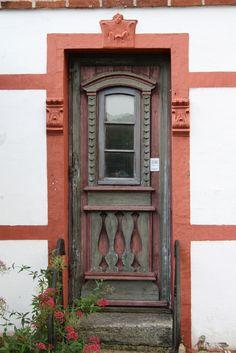 """""""Dør i Hildesheim"""" by Benny Hunersen on Flickr - Door in Denmark"""