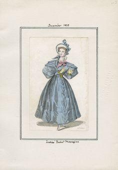 Ladies' Pocket Magazine December 1833 LAPL