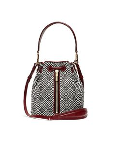 Basket Weave Cynnie Mini Bucket