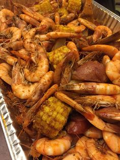 Louisiana Boiled Prawns