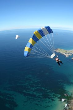 Sydney's only beach skydive