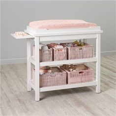 Baby Changers: Baby White Durable Changing Table   The Land of Nod