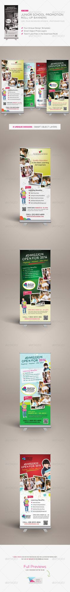 Junior School Promotion Roll-up Banners