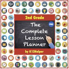 2nd Grade Lesson Plans Template: All Subjects (w/ Dropdown Lists for Common Core Standards, NGSS, & C3 Framework)