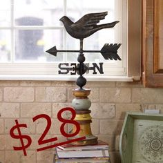 If You Seek Him Weathervane  Retails for 72.00 ON SALE FOR ONLY 28.00 BEING DISCONTINUED!  Sale ends DEC 31ST.