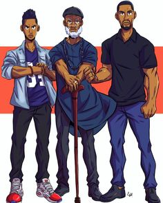 Someone about to get these hands lol black anime charact Dope Cartoon Art, Dope Cartoons, Cartoon Drawings, Black Cartoon Characters, Skins Characters, Black Comics, Black Art Pictures, Black Artwork, Animation