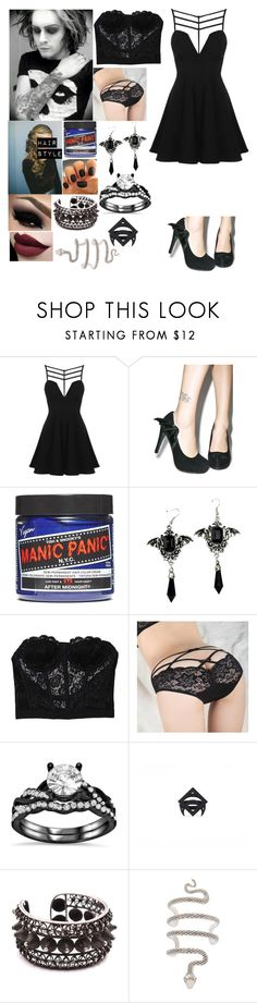 """""""Date night with Devin Sola"""" by katlanacross ❤ liked on Polyvore featuring Topshop, Iron Fist, Manic Panic NYC, BEAUTY PLAN, Child Of Wild, Hot Topic and Devinsola"""