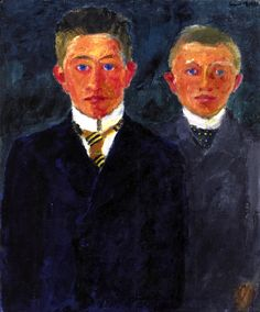 Peasants' Sons Emil Nolde - 1915