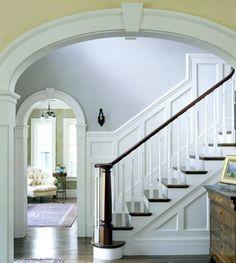 Archway + Stairwell