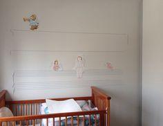 O quarto da Ciça. Veja mais: http://www.casadevalentina.com.br/blog/detalhes/o-quarto-da-cica-3121  #decor #decoracao #interior #design #casa #home #house #idea #ideia #detalhes #details #style #estilo #casadevalentina #baby #bebê #infantil