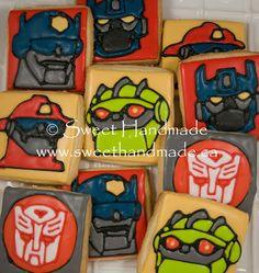Sweet Handmade Cookies Rescue Bots cookies