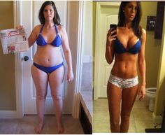 Amazing p90x before and after pics, I can't believe these are the same people!