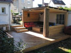 Deck idea made with palletts