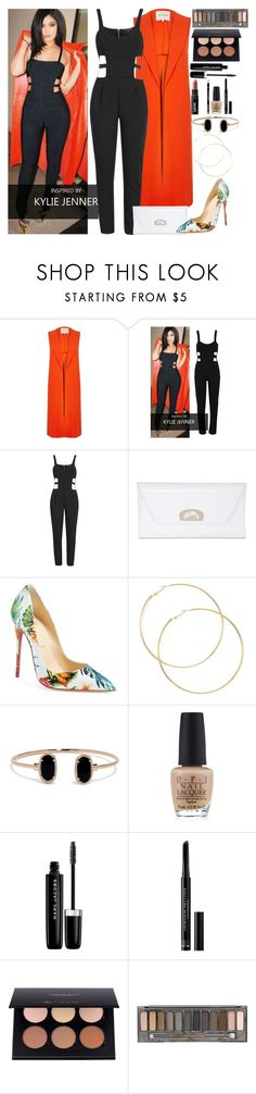"""""""Kylie Jenner: Street Style."""" by fashion-nova ❤ liked on Polyvore featuring River Island, Christian Louboutin, OPI, Marc Jacobs, Christian Dior and Urban Decay"""