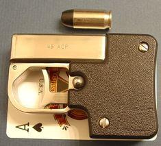 Single shot .45 pocket pistol