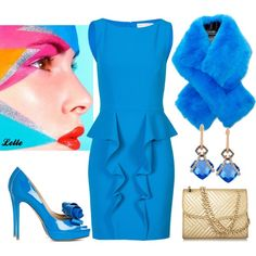"""""""EMILIO PUCCI Ruffle Dress"""" by lellelelle on Polyvore"""