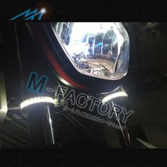 Front Fork SMD LED Running Light Bar Fit Honda VT 750 99-08