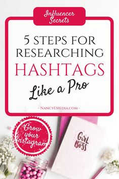 Influencer Secrets: 5 Steps To Researching Hashtags Like A Pro Small Business Marketing, Internet Marketing, Social Media Marketing, Instagram Challenge, Instagram Tips, Power Of Social Media, Social Media Tips, Get Paid Online, Instagram Marketing Tips