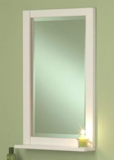 The Seaside vanity collection mirror from Sagehill Designs.  Find out more at www.sagehilldesigns.com.