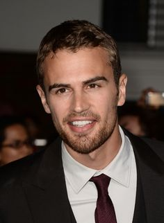 Theo James is in it.