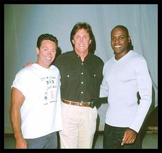 Hollywood Squares Olympic Week Mitch Gaylord, Bruce Jenner, & Carl Lewis during Hollywood Squares Olympic Week Carl Lewis, Bruce Jenner, Olympics, Squares, Chef Jackets, Hollywood, Classic, Fashion, Derby