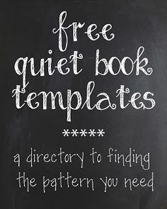 Book Pattern Directory - huge list of places to find quiet book templates!Quiet Book Pattern Directory - huge list of places to find quiet book templates! Diy Quiet Books, Baby Quiet Book, Felt Quiet Books, Quiet Book For Toddlers, Toddler Books, Quiet Book Templates, Quiet Book Patterns, Book Folding Patterns Free Templates, Felt Patterns Free