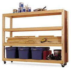 1000 images about workshop lumber storage on pinterest for Mobile lumber storage rack plans