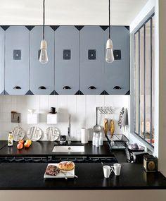 apartamento de 25 metros, cocina