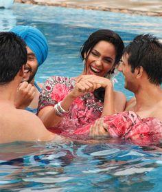 Mallika Sherawat took a break from shortlisting the eligible bachelors on her reality TV showThe Bachelorette India: Mere Khayalon Ki Mallika. #Bollywood #Fashion #Style #Beauty