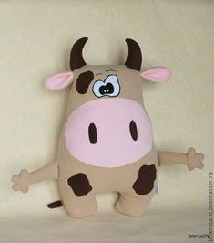 Ambrosial Make a Stuffed Animal Ideas. Fantasting Make a Stuffed Animal Ideas. Handmade Stuffed Animals, Sewing Stuffed Animals, Stuffed Animal Patterns, Sewing Toys, Baby Sewing, Sewing Crafts, Sewing Projects, Kids Pillows, Animal Pillows