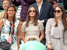 Pippa Middleton in Tory Burch at Wimbledon