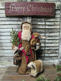 Olde Thyme Christmas by Folk Artist Sue Corlett.  Follow me on Facebook for update details!