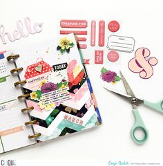 Hello, everyone. Enza here with a planner spread featuring the new gorgeous March Play Kit. I love this kit to pieces. It is just beautiful. Such happy colors and fun patterns. I was so inspired by…