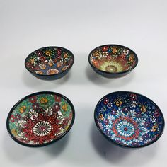 Ceramic Bowl , Cookies , nuts bowl, Cookies Pot , Set of 4 , Unique gift for Mom and Grandmom , Dried nuts , Hazelnut , seed , Pine nut , handmade  Dimensions;  Height: 1,77 (4,5cm) Diameter: 3,34 (8,5cm) set of 6  This bowl is made from ceramic. It adds the naturalness and health of the soil to Ceramic Decor, Ceramic Bowls, Unique Gifts For Mom, Pot Sets, Make Happy, Safe Food, Decorative Bowls, Pine, Cookies
