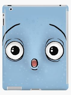 'Amaze Blue Face' Ipad Case/Skin by MadoMade / Redbubble. Ideal for kids and young students. Protect your expensive and precious Ipad with these funny and slightly wacky tech cases. Available in various facial expressions and colours. Ipad 4, Ipad Case, Lip Designs, Style Snaps, Facial Expressions, Laptop Sleeves, Students, Product Launch