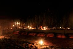 Experience the newest adventure at Royal Chundu - a beach BBQ on a lantern-lit island sandbank in the middle of the Zambezi River.