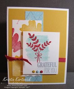 Stampin' Up! 2014 Holiday Catalog Sneak peek featuring For All Things by Kristin Kortonick