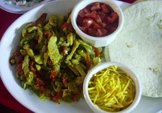 Pork Fajitas. Making these tonight... we'll see how it goes