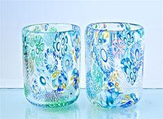 Fireworks Tumbler: Michael Egan: Art Glass Tumblers | Artful Home