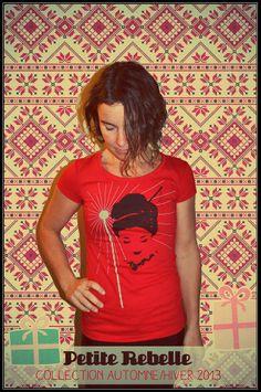 Le confort d'un beau t-shirt d'OÖM Ethikwear; idéal pour le congé des fêtes. #chandail #rouge #confort #modemtl www.petiterebelle.ca